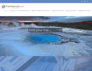 freenomads.com screenshot