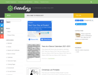 freeology.com screenshot