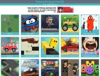 freeonlinegames66.com screenshot