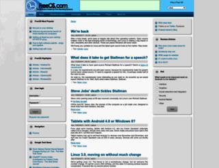 freeos.com screenshot
