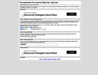 freepasswordgenerator.com screenshot