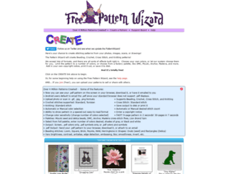 freepatternwizard.com screenshot