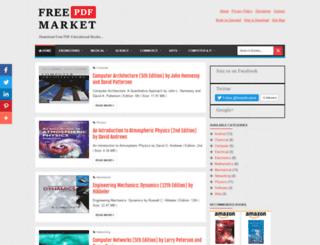 freepdfmarket.blogspot.com screenshot