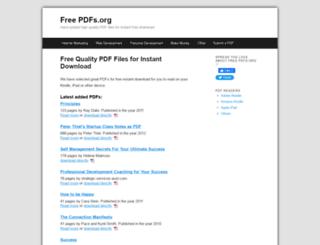 freepdfs.org screenshot