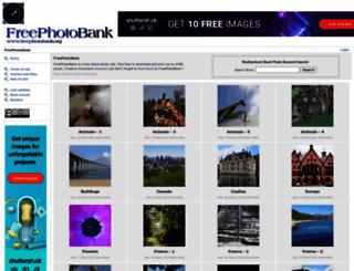 freephotobank.org screenshot