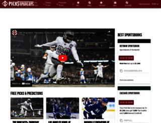 freepicks.picksandparlays.net screenshot