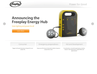 freeplayenergy.com screenshot