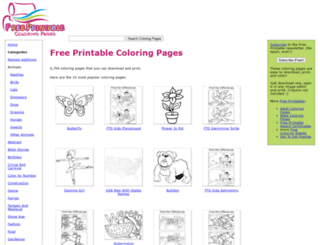 freeprintablecoloringpages.net screenshot