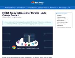 freeproxyswitcher.com screenshot