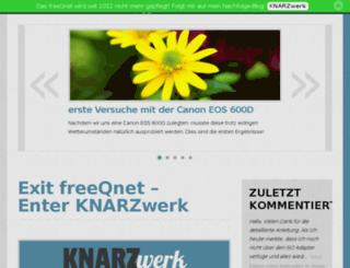 freeqnet.de screenshot