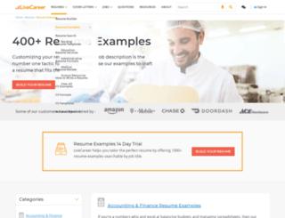 Access freeresumesamplesorg Free Resume Samples Writing Tips