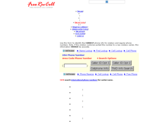 freerevcell.com screenshot