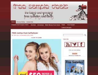 freesampledeals.com screenshot