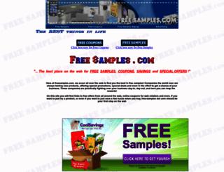 freesamples.com screenshot