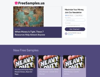 freesamples.us screenshot