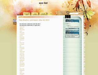 freeseolistnew.blogspot.in screenshot