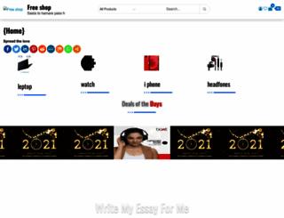freeshop.co.in screenshot
