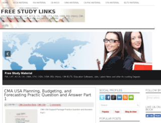 freestudylinks.com screenshot