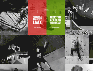 freestyleacademy.laax.com screenshot