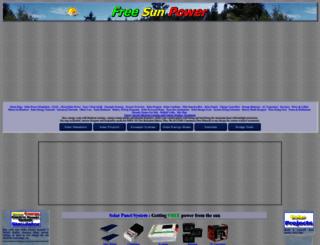 freesunpower.com screenshot