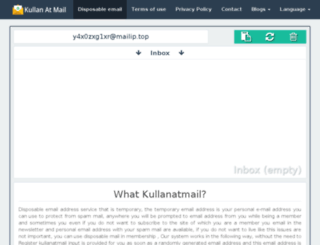 freetempmail.com screenshot