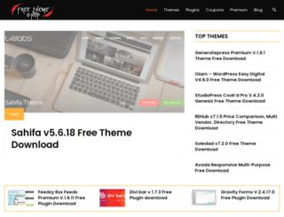 freethemeshop.com screenshot