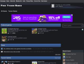 freetycoongames.org screenshot