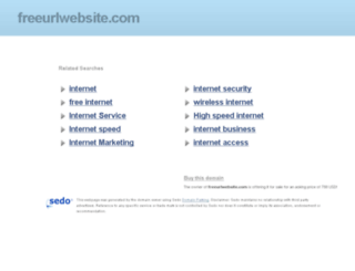 freeurlwebsite.com screenshot