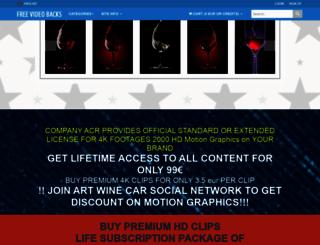 freevideobacks.com screenshot