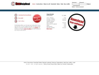 freevoipdeal.com screenshot