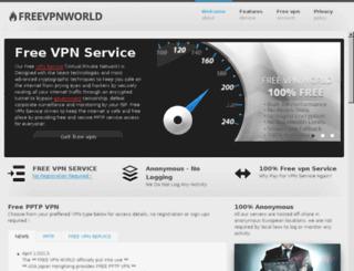 freevpnworld.com screenshot