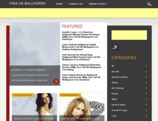 freewallpapershd.in screenshot