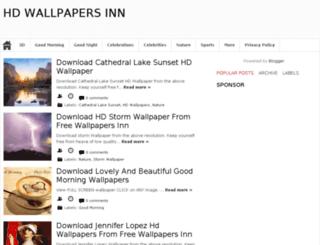 freewallpapersinn.blogspot.com screenshot