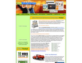 freewebsitecenter.com screenshot