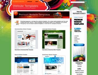 freewebsitetemplatez.com screenshot