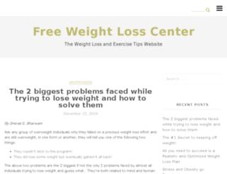 freeweightlosscenter.com screenshot