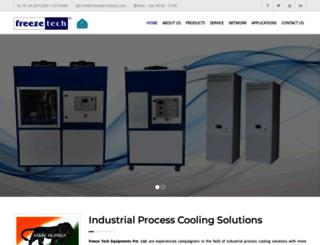 freezetechequip.com screenshot