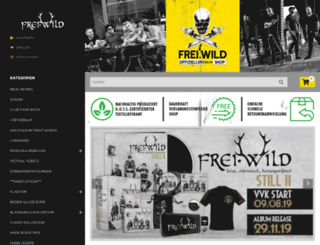 frei-wild-shop.de screenshot