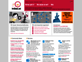 freifunk.net screenshot