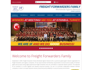 freightforwardersfamily.com screenshot