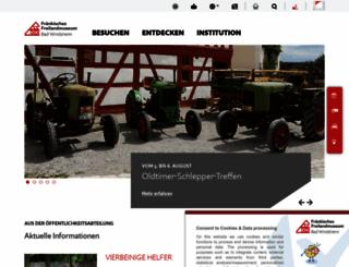 freilandmuseum.de screenshot
