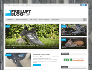freiluft-blog.de screenshot