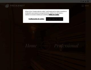 freixanet-saunasport.com screenshot