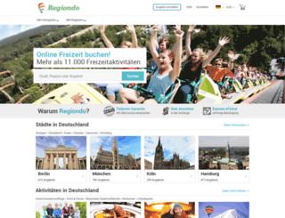 freizeitlexikon.regiondo.de screenshot