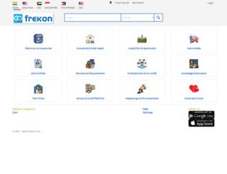 frekon.com screenshot