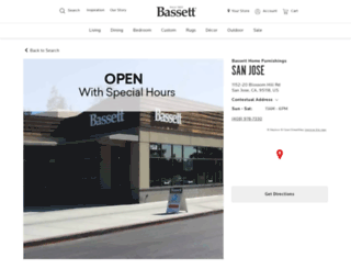 fremont.bassettfurniture.com screenshot