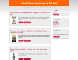 french-food.com screenshot