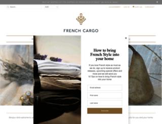 frenchcargo.com.au screenshot