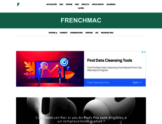 frenchmac.com screenshot