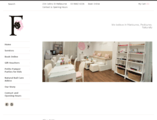 frenchpink.com.au screenshot